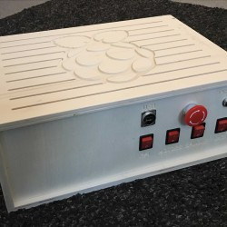 My new Raspberry PI CNC controller box