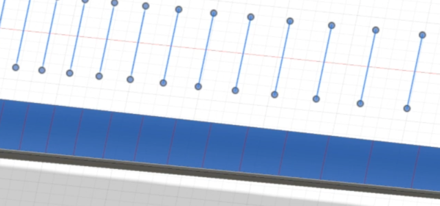 Adding frets to a guitarneck in Fusion360