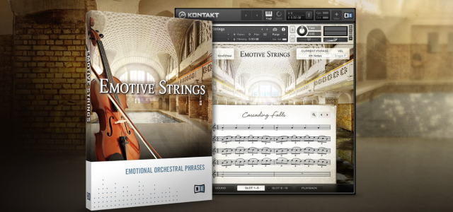 Native Instruments releases Emotive Strings